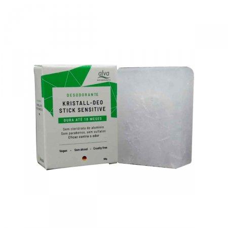 Refil Desodorante Stick Kristall Sensitive com 90g