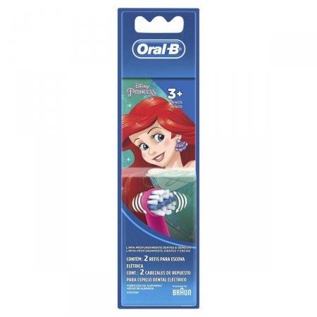 Refil para Escova Elétrica Oral-B Disney Princesas  com 2 Unidades | Foto 1