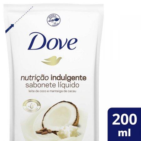 Refil Sabonete Líquido Dove Nutrição Indulgente