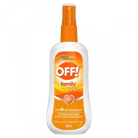 Repelente de Insetos Off! Family Spray com 100ml