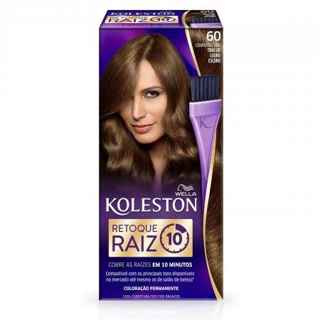 Retoque para Raiz Koleston Louro Escuro Nº60