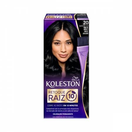 Retoque para Raiz Koleston Preto Azulado Nº20