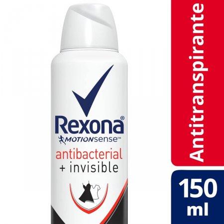 Desodorante Aerosol Rexona Women Antibacterial + Invisible