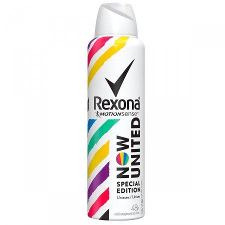 Desodorante Antitranspirante Aerosol Rexona Now United Special Edition