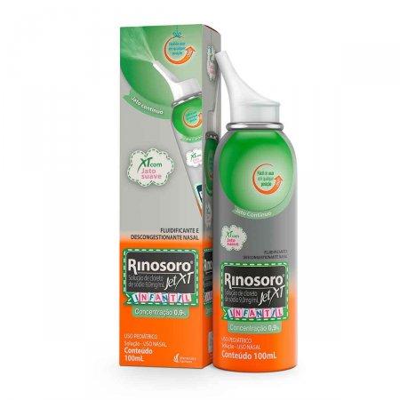 Rinosoro Jet XT Infantil 0,9% Spray 100ml