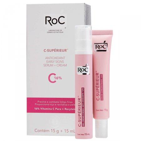 Gel-Creme Antioxidante Concentrado Roc C-Supérieur 16%