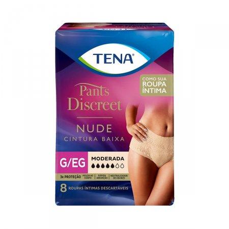 Roupa Íntima Tena Pants Discreet Nude Tamanho G/EG
