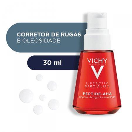 Sérum Facial com Ação Pró-Colágeno Vichy Liftactiv Peptide-AHA com 30ml