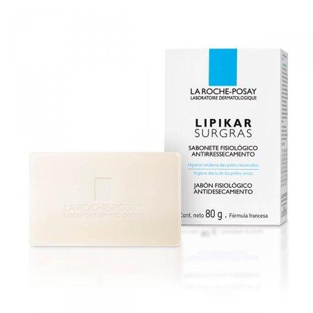 Sabonete Facial em Barra La Roche-Posay Lipikar Surgras Antirressecamento com 80g