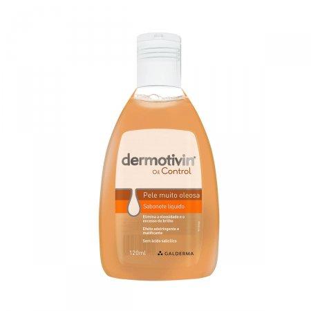 Sabonete Líquido Facial Dermotivin Oil Control Pele Oleosa com 120ml