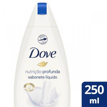 Sabonete Líquido Corporal Dove Nutrição Profunda com 250ml