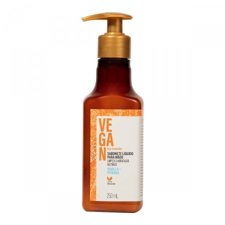 Sabonete Líquido para Mãos Vegan by Needs Vanilla + Pitanga 250ml |