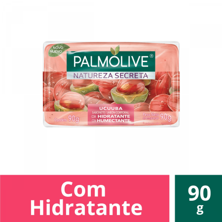 Sabonete Barra Natureza Secreta Palmolive Ucuuba