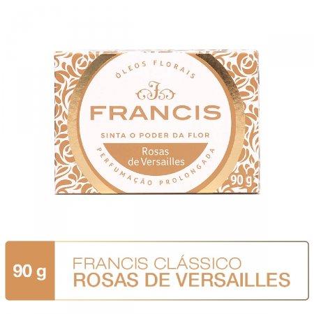 Sabonete em Barra Francis Clássico Rosas de Versailles