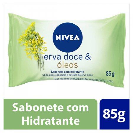 Sabonete em Barra Nivea Erva Doce & Óleos