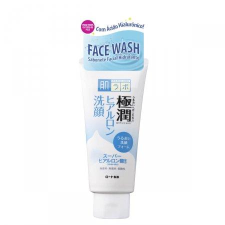 Sabonete Hidratante Facial Hada Labo Gokujyun Face Wash