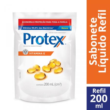 Sabonete Líquido Corporal Protex Vitamina E Refil