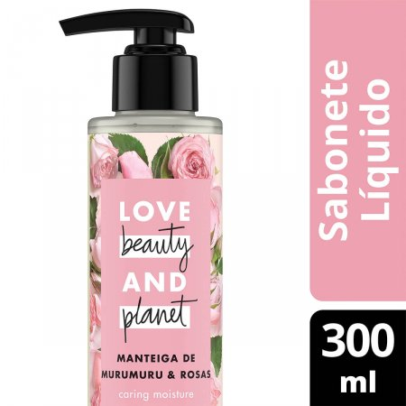 Sabonete Líquido Love Beauty And Planet Caring Moisture