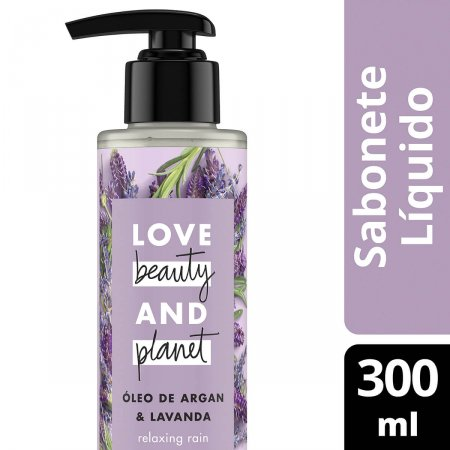 Sabonete Líquido Love Beauty And Planet Relaxing Rain