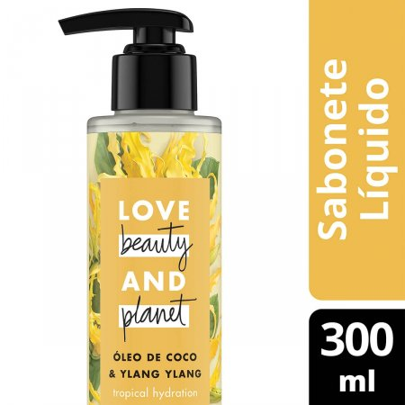 Sabonete Líquido Mãos e Corpo Love Beauty And Planet Gentle Hydration