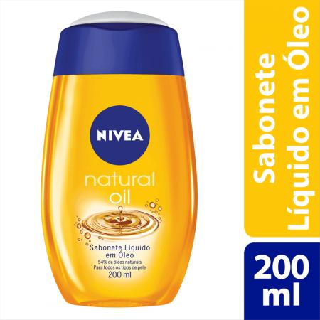 Sabonete Líquido Nivea Natural Oil