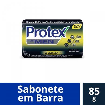 Sabonete em Barra Protex Men 3 em 1