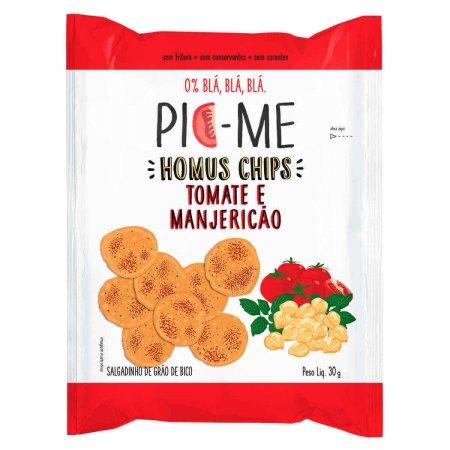 Salgadinho Pic-Me Homus Chips Tomate e Manjericão