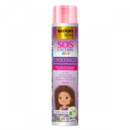 Condicionador SOS Salon Line Kids