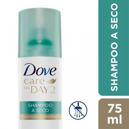 Shampoo a Seco Dove Care on Day 2 Renovador Instantâneo