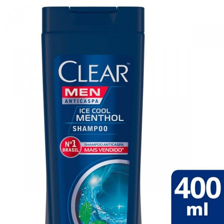 Shampoo Anticaspa Clear Men Ice Cool Menthol