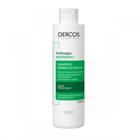 Shampoo Anticaspa Vichy Dercos Intensivo com 200ml