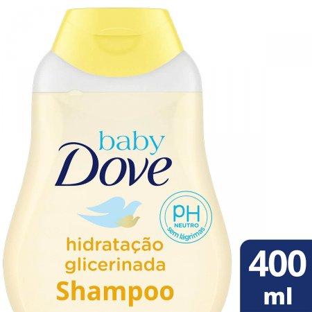 Shampoo Dove Baby Hidratação Glicerinada com 400ml