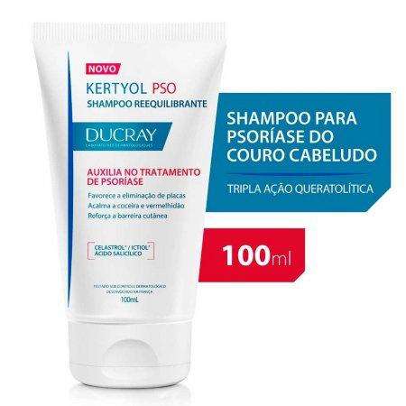 Shampoo Ducray Kertyol P.S.O. com 100ml