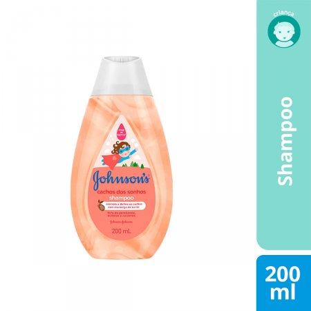 Shampoo Johnson's Cachos dos Sonhos