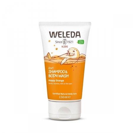 Shampoo Sabonete Weleda Kids 2 em 1 Laranja 150ml |