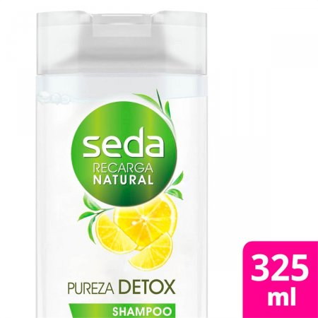 Shampoo Seda Recarga Natural Pureza Detox com 325ml