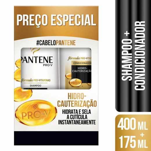 a9e88838f Kit Shampoo + Condicionador Pantene Hidro Cauterização | Droga Raia