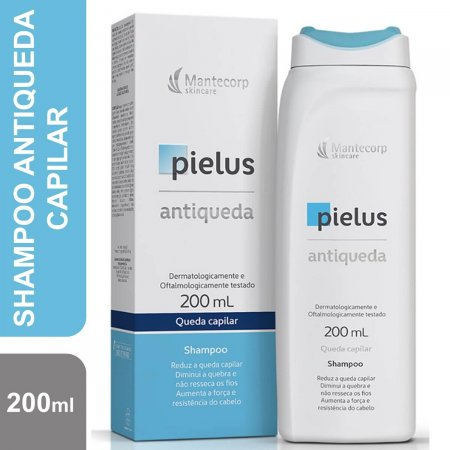 Shampoo Antiqueda Mantecorp Pielus com 200ml