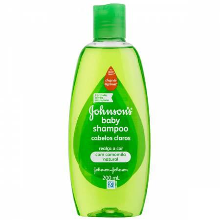 Shampoo Infantil Johnson's Baby Cabelos Claros