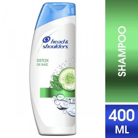 Shampoo de Cuidados com a Raiz Head & Shoulders Detox da Raiz