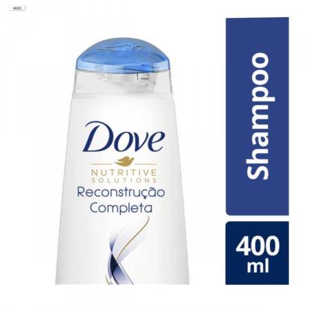 Shampoo Dove Reconstrução Completa Para Cabelos Danificados