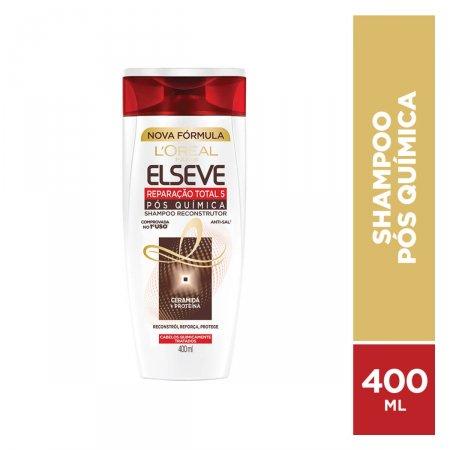 Shampoo Elseve Reparação Total 5 Pós Química