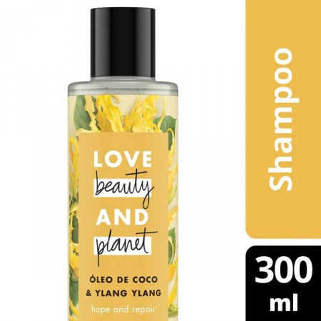 Shampoo Love, Beauty and Planet Hope and Repair