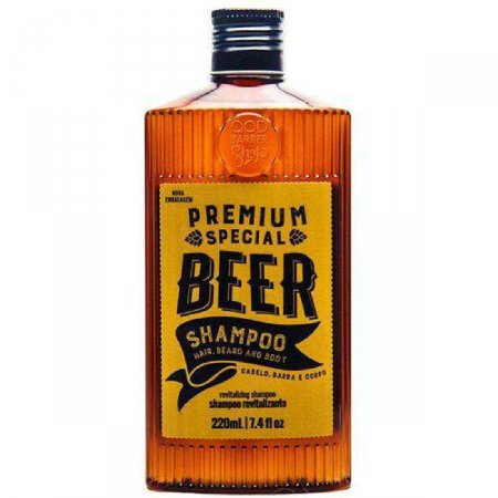 Shampoo QOD Premium Special Beer