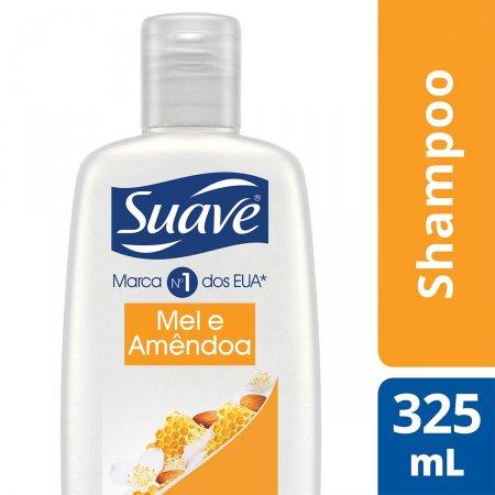 Shampoo Suave Naturals Força e Brilho Mel e Amêndoas 352ml |