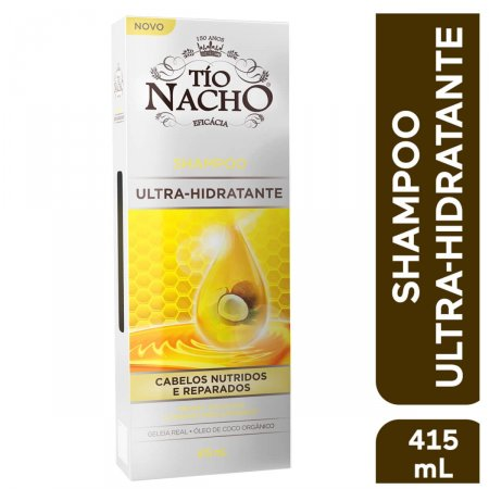 Shampoo Ultra-hidratante Tio Nacho