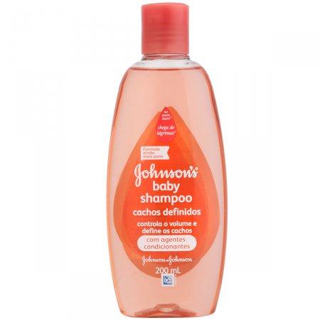 Shampoo Infantil Johnson's Baby Cachos Definidos