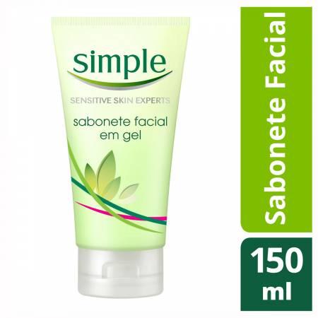 Sabonete Facial Simple em Gel