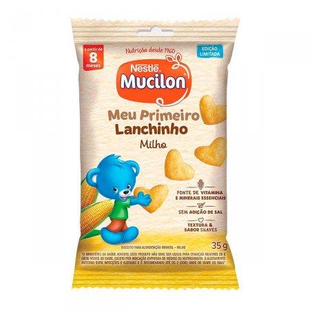 Snack Nestlé  Mucilon Tradicional com 35g   Foto 1