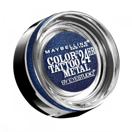 Sombra Maybelline Color Tattoo Metallics Electric Blue